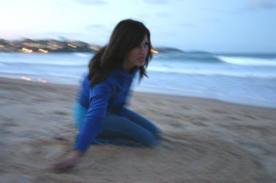 Trine vid Manly Beach